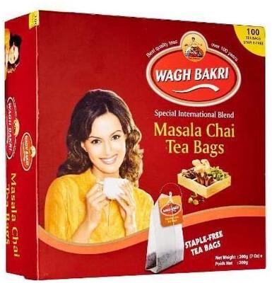 WAGHBAKRI MASALA TEA BAGS 100ST