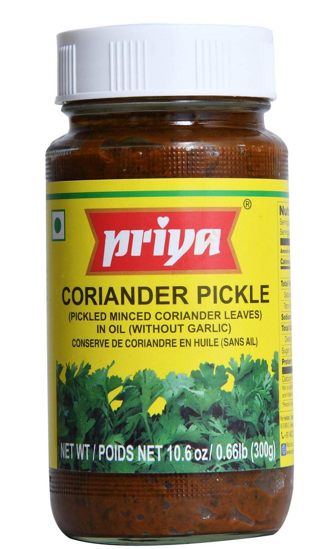 PRIYA CORIANDER PICKLE 300GM