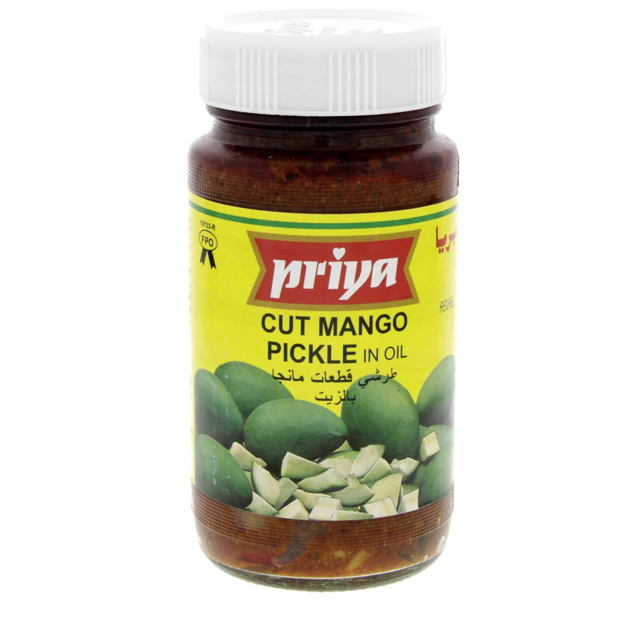 PRIYA CUT MANGO PICKLE 300GM