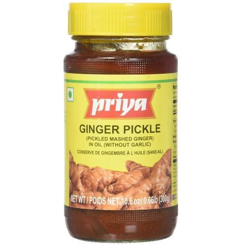 PRIYA GINGER PICKLE 300GM
