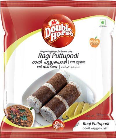 DOUBLE HORSE RAGI PUTTUPODI 500GM