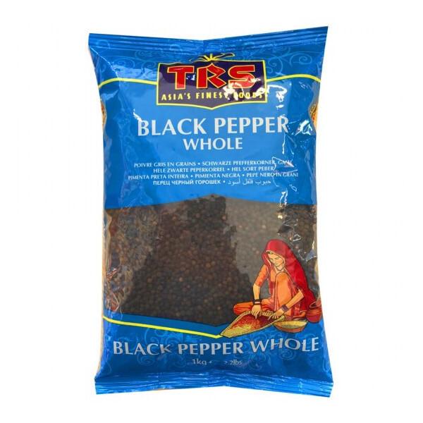 TRS BLACK PEPPER WHOLE 1KG