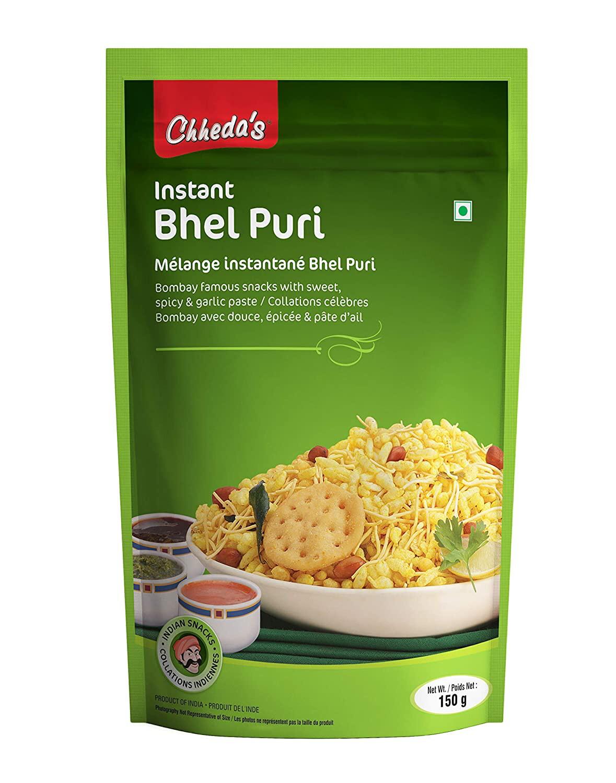 CHHEDA'S BHELPURI WITH CHUTNEY 150GM