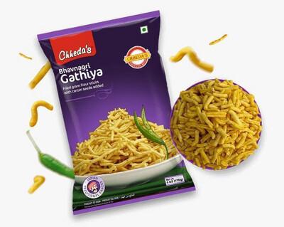 CHHEDA'S BHAVNAGRI GATHIYA 170GM