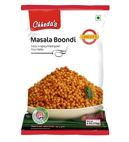 CHHEDA'S MASALA BOONDI 170GM