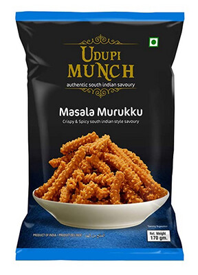 CHHEDA'S UDUPI MUNCH MASALA MURUKKU 170GM