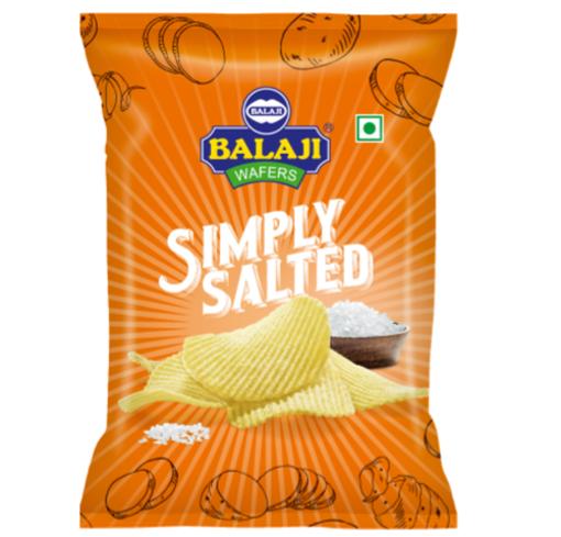 BALAJI SIMPLY SALTED 155GM