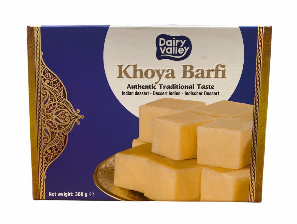 DAIRY VALLEY FRESH KHOYA BARFI 300GM (Delivery in BRUSSELS, GENT, MECHELEN & ANTWERPEN ONLY!)