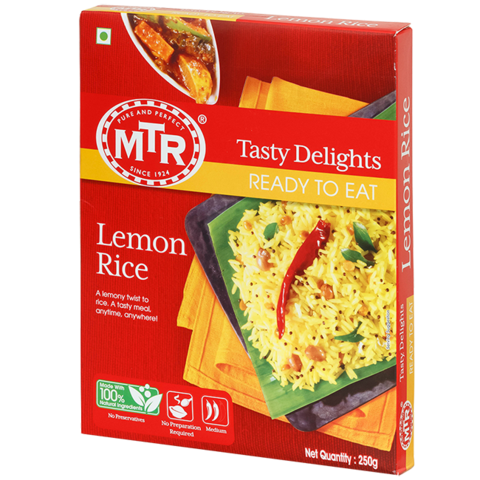 MTR READY TO EAT LEMON RICE 250GM
