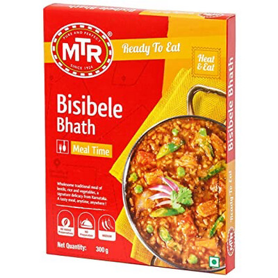 MTR READY TO EAT BISIBELE BHATH  300GM