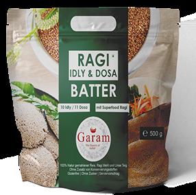 GARAM RAGI BATTER (IDLI AND DOSA) 750GM (Delivery in BRUSSELS, GENT, MECHELEN & ANTWERPEN ONLY!)