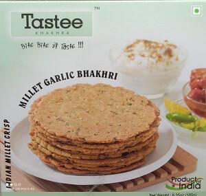 TASTEE GARLIC MILLET BHAKHARI 180GM