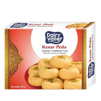 DAIRY VALLEY KESAD PEDA 300GM (Delivery in BRUSSELS, GENT, MECHELEN & ANTWERPEN ONLY!)