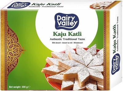 DAIRY VALLEY KAJU KATLI 300GM (Delivery in BRUSSELS, GENT, MECHELEN & ANTWERPEN ONLY!)
