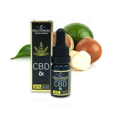 10% CBD Macadamianuss Öl