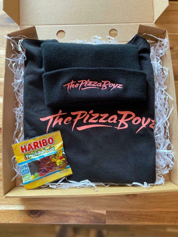 Boyz T & Beanie Combo (Black T and Black Beanie)