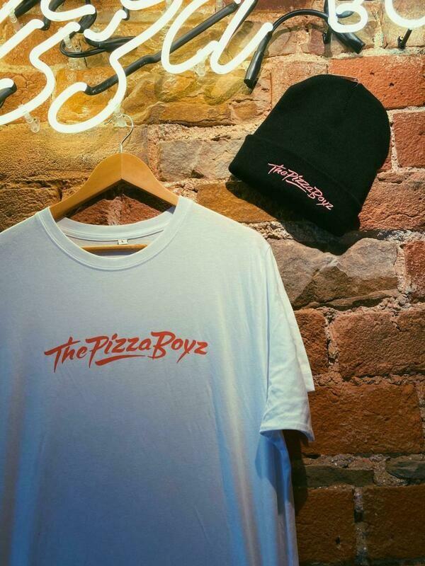 Boyz T & Beanie Combo (White T & Black Beanie)