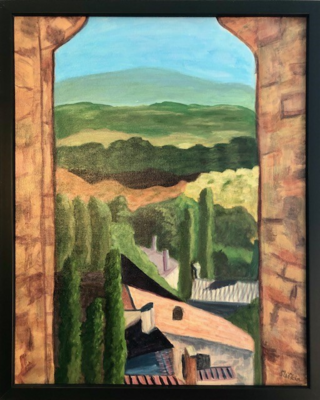 Provence Through the Wall