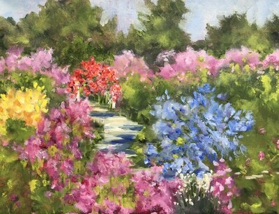 Garden Walk and Rose Arbor