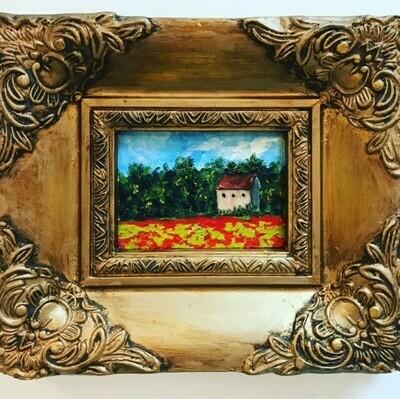 Provence in Vintage Frame