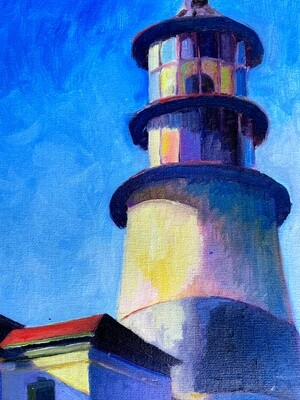 Lighthouse in June