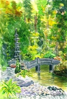 Hillwood Japanese Gardens