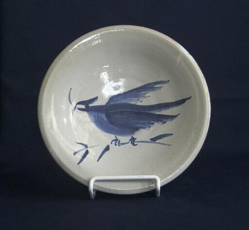 Delft Bird Plate