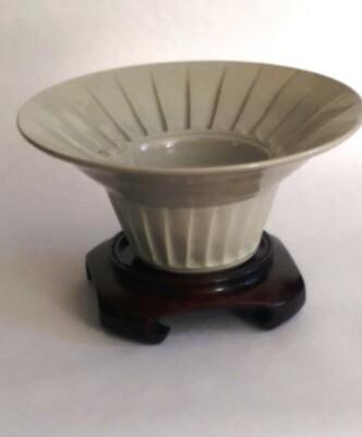 Faceted Celadon Bowl