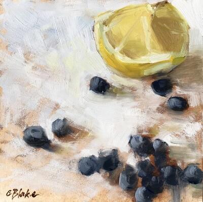 Lemon & Blueberries