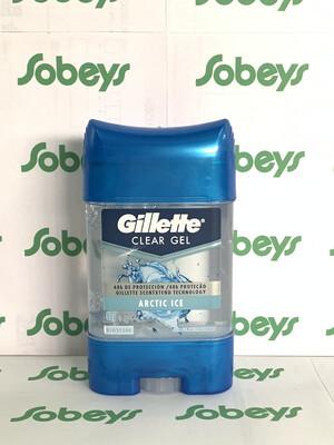 GILLETTE CLEAR GEL ARTIC ICE 82 GR