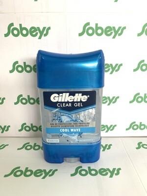 GILLETTE CLEAR GEL COOL WAVE