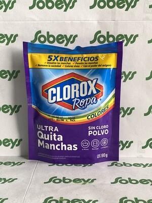 QUITA MANCHAS EN POLVO CLOROX ROPA SIN CLORO 90g