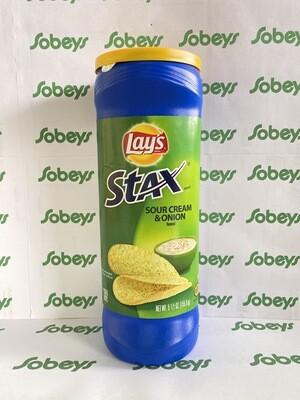 LAY'S STAX CREMA Y CEBOLLA 155.9g