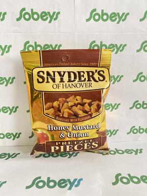SNYDER'S HONEY MUSTARD & ONION PRETZEL PIECES 56g