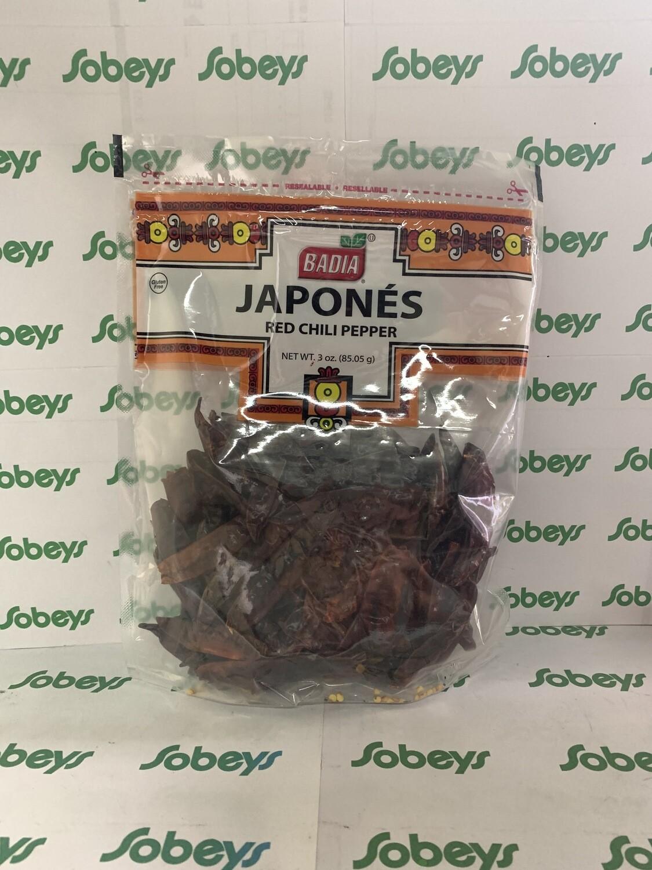 JAPONÉS BADIA 85.05g