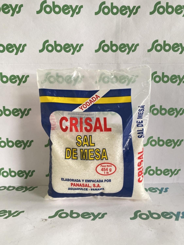 SAL DE MESA CRISAL 454g