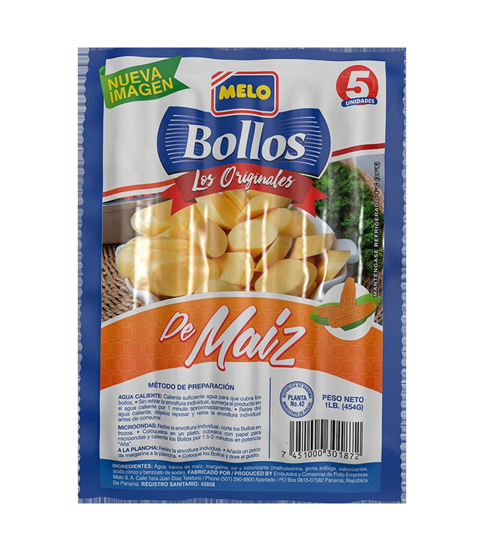 BOLLOS DE MAÍZ MELO 5UND