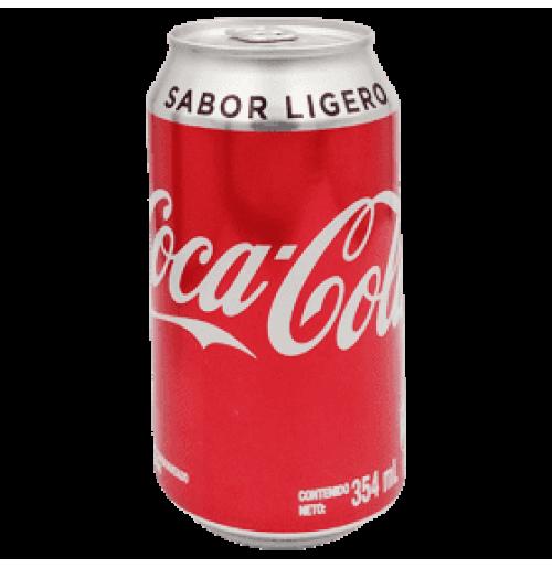 COCA-COLA SABOR LIGERO EN LATA 354ml