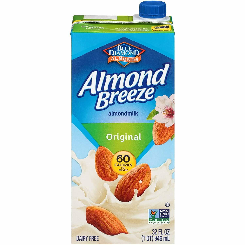 ALMOND BREEZE ORIGINAL BLUE DIAMONDS 946ML