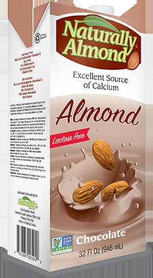 LECHE ALMENDRA CHOCOLATE NATURALLY ALMOND 946ml