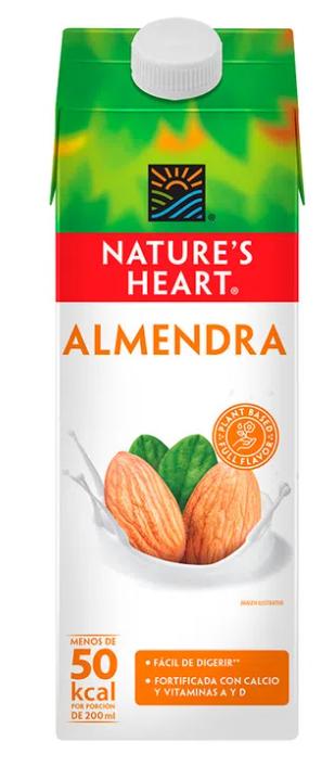 LECHE ALMENDRA NATURE'S HEART 946ml