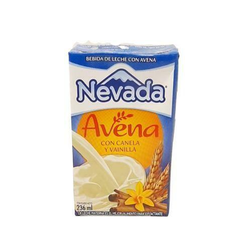 AVENA CON CANELA Y VAINILLA NEVADA 236ML