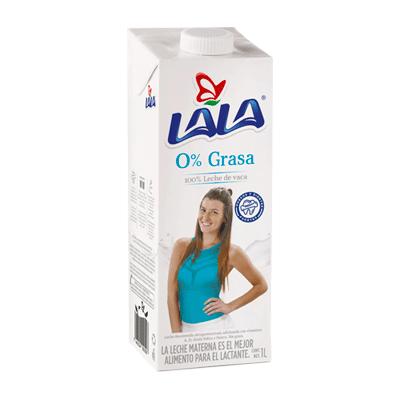 LECHE ENTERA 0% GRASA LALA 1L