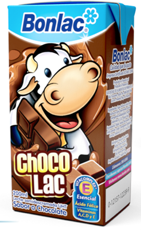 LECHE SEMIDESCREMADA CHOCOLATE BONLAC 200ml