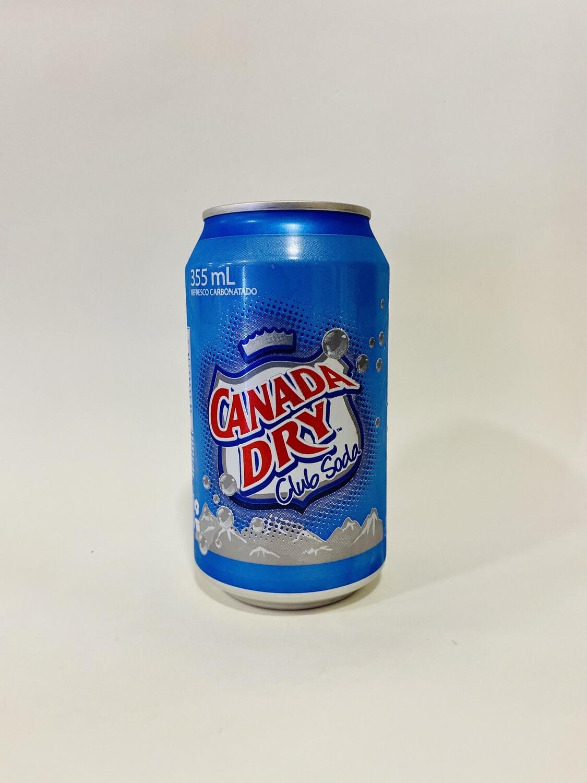 CANADA DRY CLUB SODA LATA 355ml