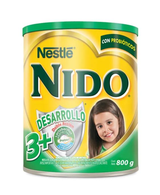 NIDO DESARROLLO 3+ NESTLE  800g