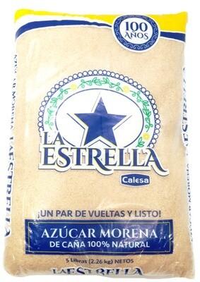 AZÚCAR BLANCA LA ESTRELLA 5LB