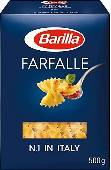 ESPAGUETI FARFALLE N.65 BARILLA 500g
