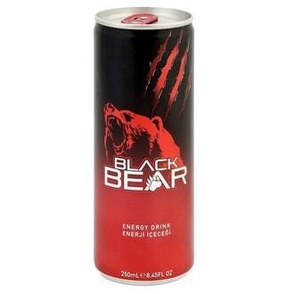 BLACK BEAR ENERGY DRINK 250ml