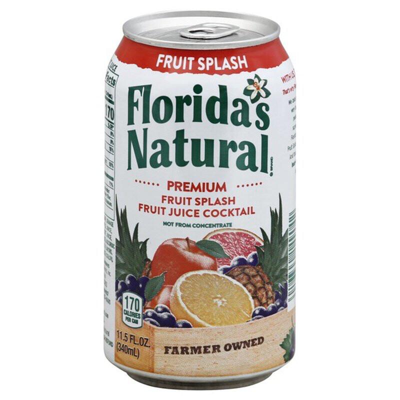 FLORIDA NATURAL FRUIT SPLASH 340ml